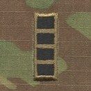 OCP W4 CWO Chief Warrant Officer 4 Army Rank Sew On Pair for Cap
