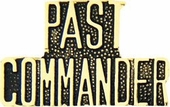 Past Commander Pin