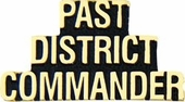 Past District Commander Pin