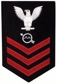 Radarman (RD) Navy Rate Patch 1st-3rd Class