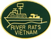 River Rats Vietnam Pin