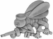Seabees Cut Out Pin