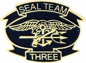 Seal Team 3 Pin