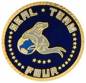 Seal Team 4 Pin