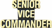 Senior Vice Commander Pin