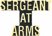 Sergeant At Arms Pin