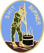 Shit Burner Pin