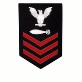 Torpedoman's Mate (TM) Navy Rate Patch 1st-3rd Class - OUT OF STOCK-