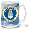 U.S. Air Force 16 Ounce Coffee Mug