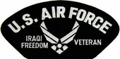 U.S. Air Force Iraqi Freedom Veteran Patch