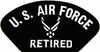 U.S. Air Force Retired Patch