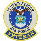 U.S. Air Force Veteran Patch