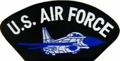 U.S. Air Force with Jet Patch