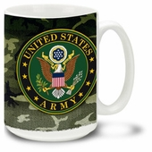 U.S. Army 16 Ounce Coffee Mug