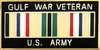 U.S. Army Gulf War Veteran Pin