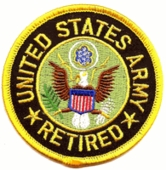 U.S. Army Retired Patch