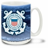 U.S. Coast Guard 16 Ounce Coffee Mug