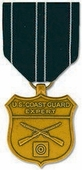 U.S. Coast Guard Expert Rifle Medal