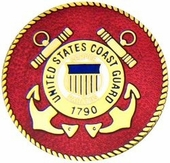 U.S. Coast Guard Large Pin