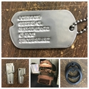 1939-1964 U.S. Military Dog Tags with Notch