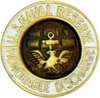 U.S. Naval Reserve Honorable Discharge Lapel Pin
