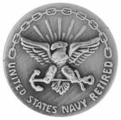 U.S. Navy Retired 20 Years Lapel Pin