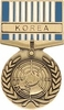 United Nations Korea Service Medal Pin