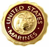 United States Marines Pin