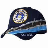 US Air Force Round Barbed Wire Hat