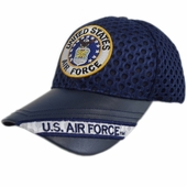 US Air Force Round Logo Air Flow Hat