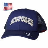 US Air Force Trucker Hat Made In USA