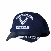 US Air Force Wing Disabled Veteran Hat