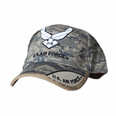 US Air Force Wing Logo Digital Pixel Hat