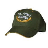 US Army Retired Olive Green Hat