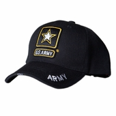 US Army Star Black Hat