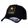 US Army Star Logo Black Shadow Hat