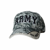 OUT OF STOCK US ARMY TEXT DIGITAL PIXEL HAT