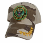 US Army Veteran Camo Hat