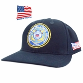 US Coast Guard Logo Made In USA Hat