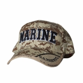 US MARINE TEXT DIGITAL PIXEL HAT