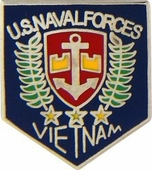 US Naval Forces Vietnam Pin
