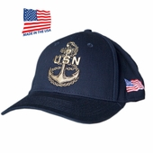 US Navy Anchor Made In USA Hat