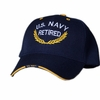 US Navy Retired Hat