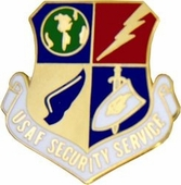 USAF Security Service Pin