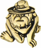 USMC Bulldog Pin
