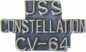 USS Constellation CV-64 Pin