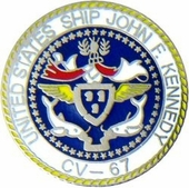 USS John F. Kennedy Pin