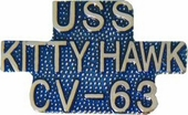 USS Kitty Hawk CV-63 Pin