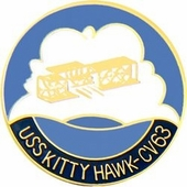 USS Kitty Hawk Pin