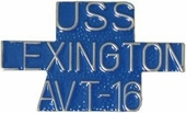 USS Lexington AVT-16 Pin